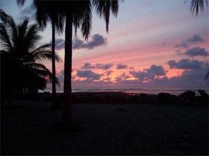 Sunset At Playa Saladita