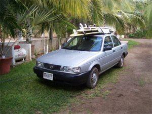 My Friend's Rental Car