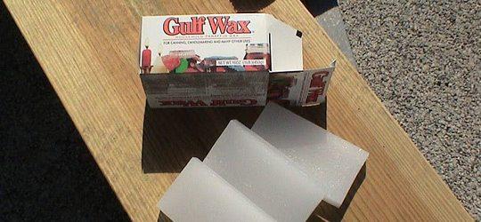 Gulf Wax, the real stuff