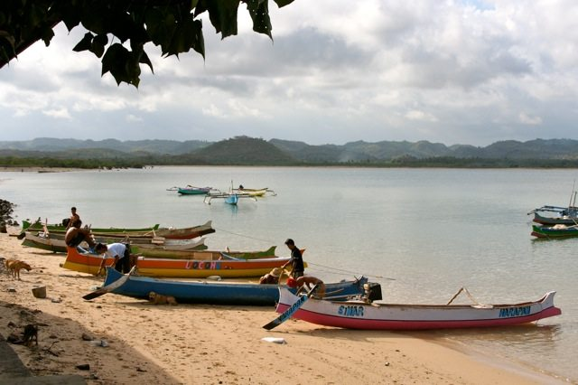 Lombok fishing boats