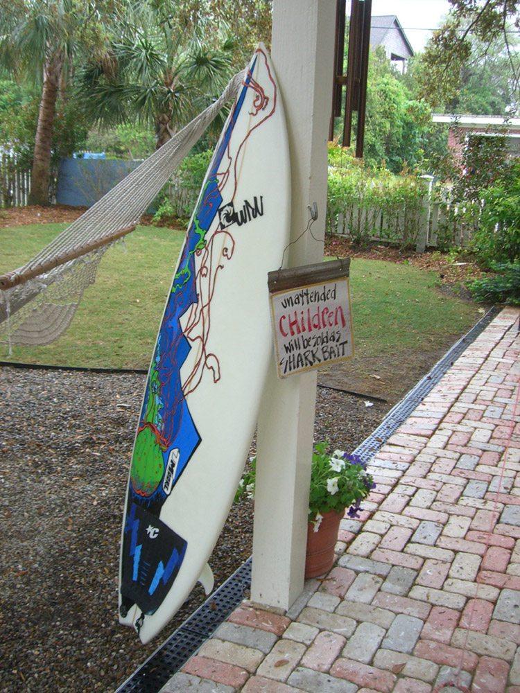 Mickey June's Surfboard Art 3